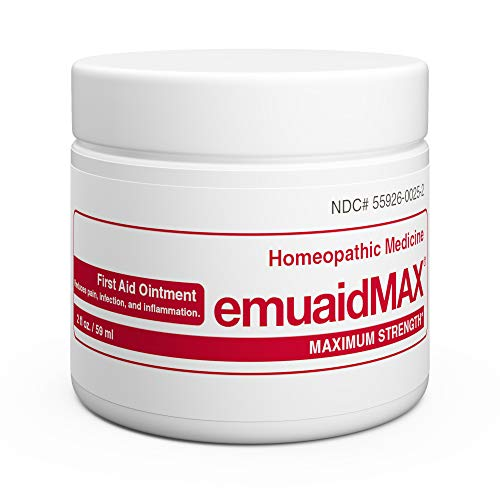 EmuaidMAX Ointment - Antifungal, Eczema Cream. Maximum Strength Treatment. Use Max Strength for Athletes Foot,...