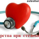 Лекарства от стенокардии